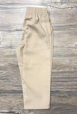 K-12 Khaki Pull-On Pants