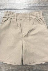 K-12 Pull-On Shorts Khaki