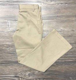 K-12 Girls Flare Leg Pants 17-25JR Khaki