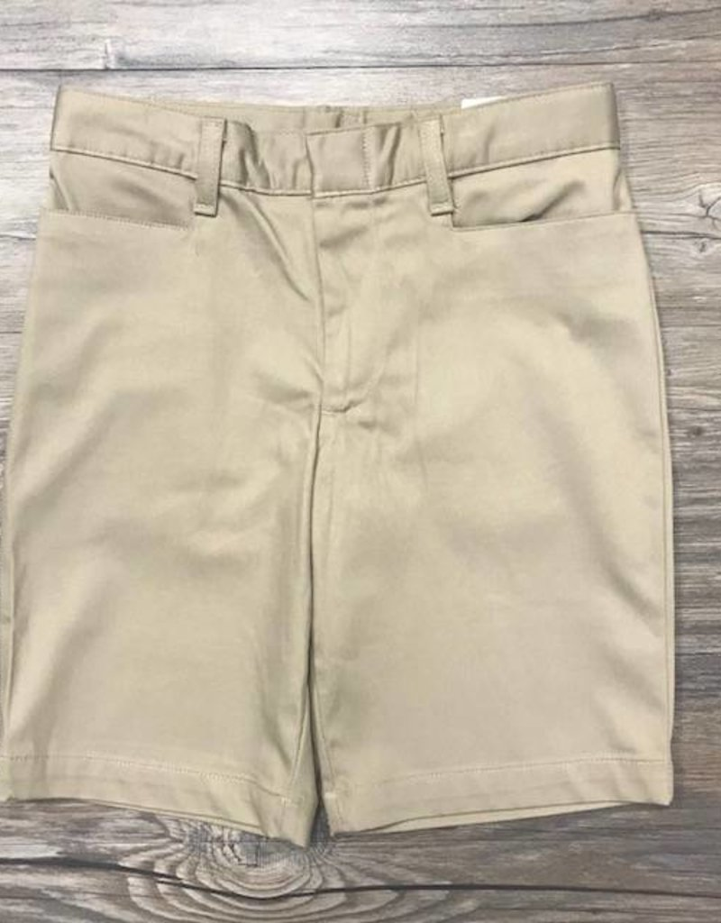K-12 Girls Shorts 7-16 Khaki