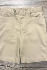 K-12 Girls Bermuda Shorts Husky 6 1/2+ Khaki