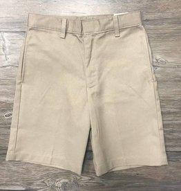 K-12 Boys Khaki Slim Shorts