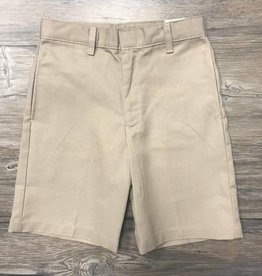 K-12 Boys Shorts Slim 8-20 Khaki