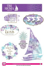 Sorority Shop Sticker Sheet