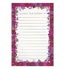 Alexandra & Company Floral Notepad