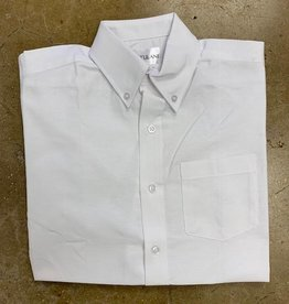 Tulane Shirts, Inc. S/S Mens Blank Oxford