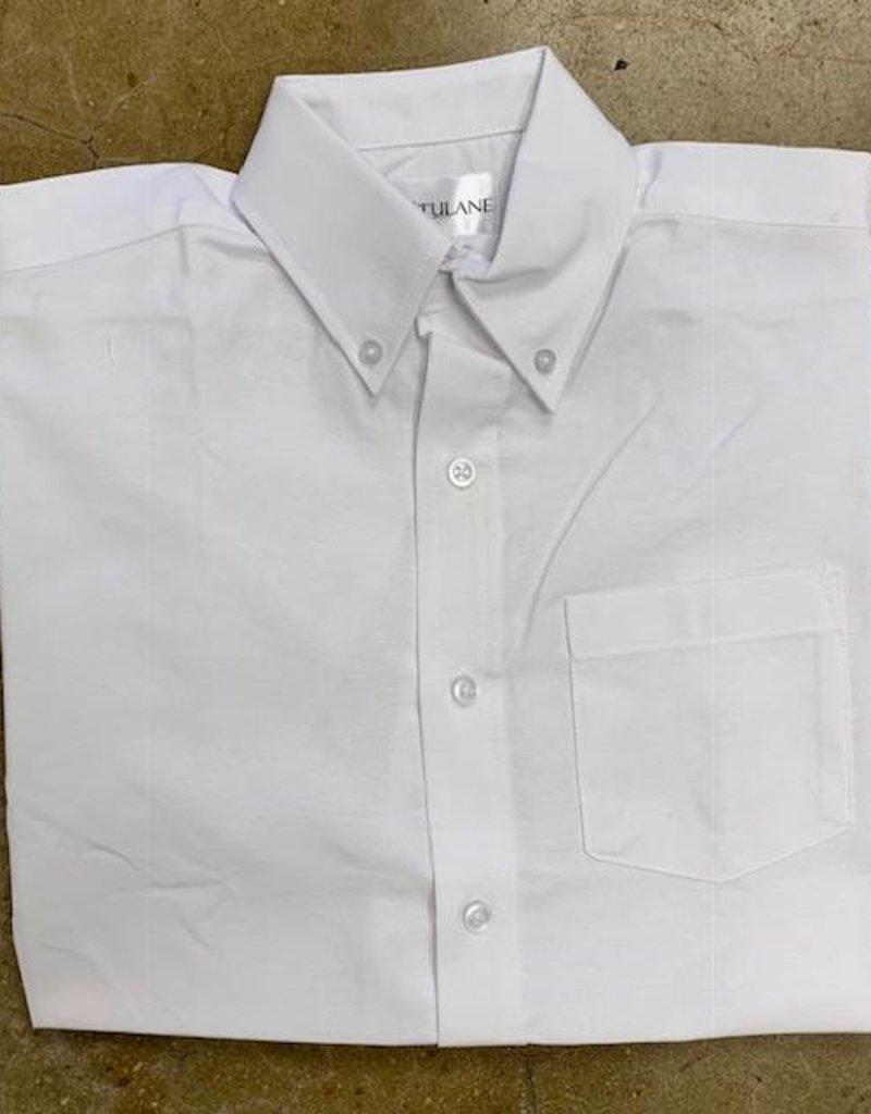 Tulane Shirts, Inc. S/S Mens Blank Oxford