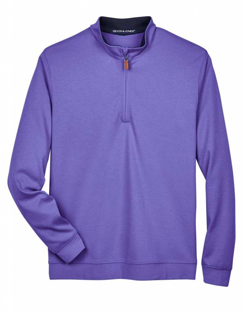 Devon & Jones Mens DRYTEC20 Performance Quarter-Zip