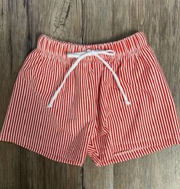 WAM Blanks Boys Seersucker Swim Trunks