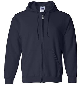 Gildan Full-Zip Hoodie Sweatshirt Youth