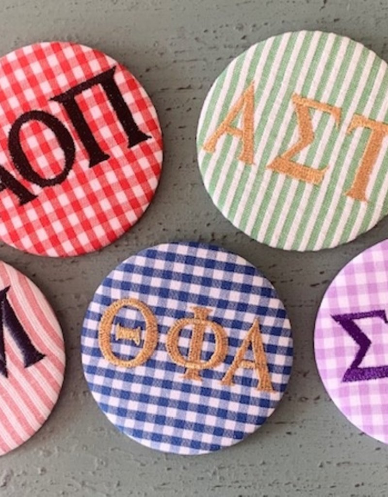 Greek Divine and More Embroidered Greek Spirit Buttons