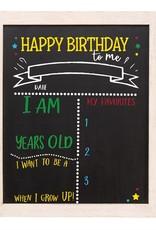Mud-Pie Birthday & School Chalkboard
