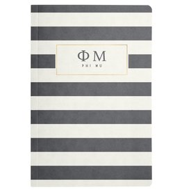 Alexandra & Company Striped Notebook