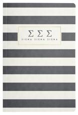 Alexandra & Company Striped Notebook