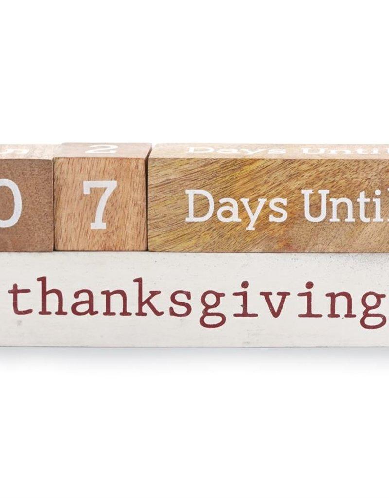 Mud-Pie Holiday Countdown Block Set