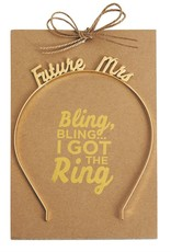 Mud-Pie Future Mrs. Headband