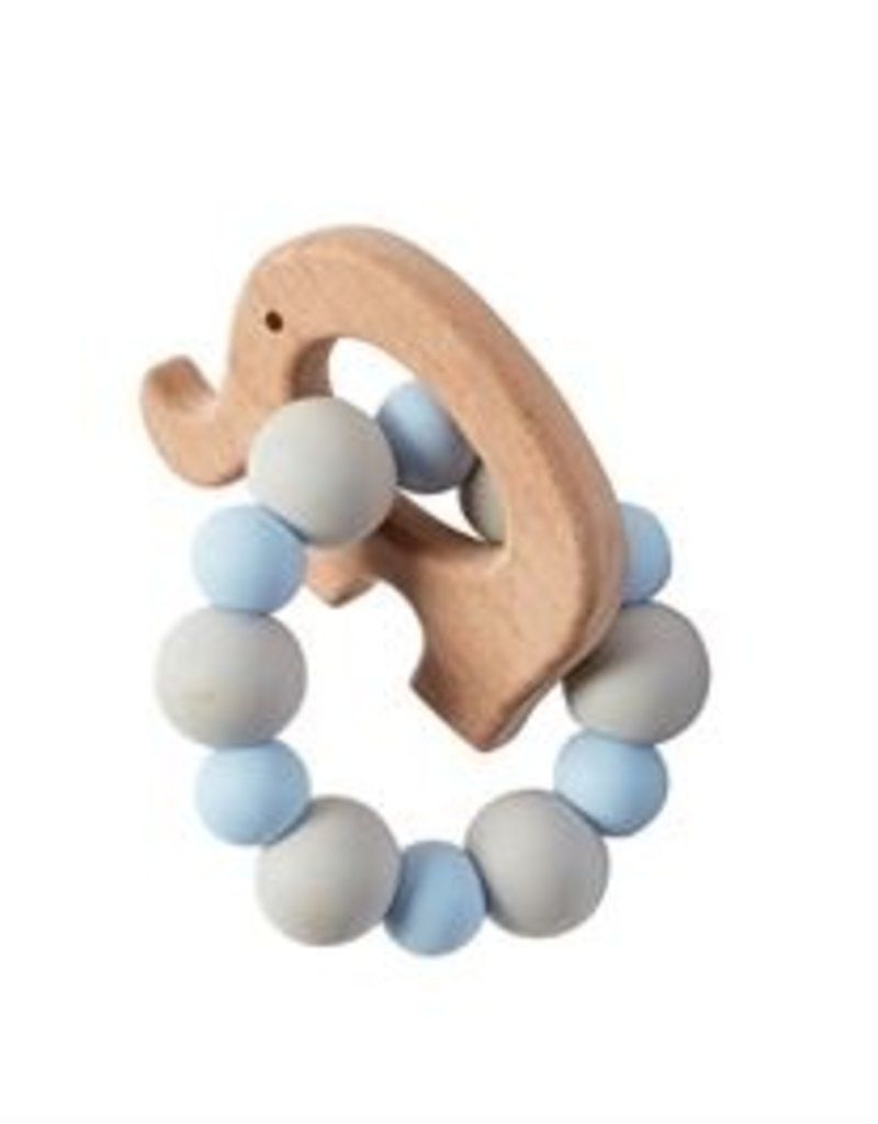 Mud-Pie Wood & Silicone Teether