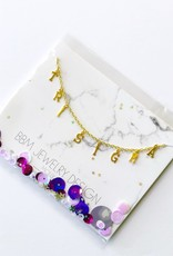 BBM Jewelry Gold Choker