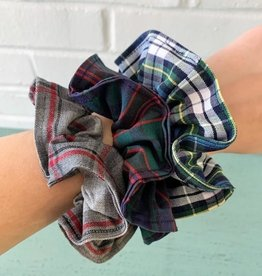 Ee Dee Trim Co., Inc. Plaid Scrunchie