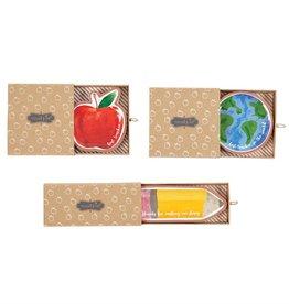 Mud-Pie Teacher Terracotta Trinket