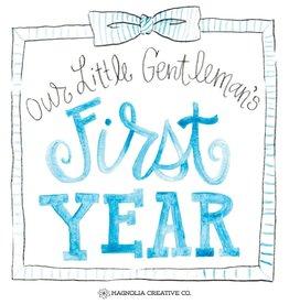 Magnolia Creative Co. Little Gent Milestone Cards