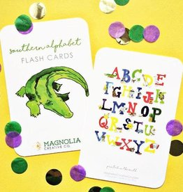 Magnolia Creative Co. LA Alphabet Flash Card Set