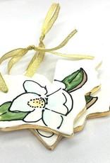 Magnolia Creative Co. Ceramic Ornament