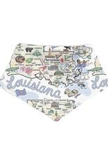 Fish-Kiss Louisiana Baby Bandana