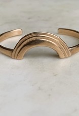 Mimosa Handcrafted Bronze Cuff