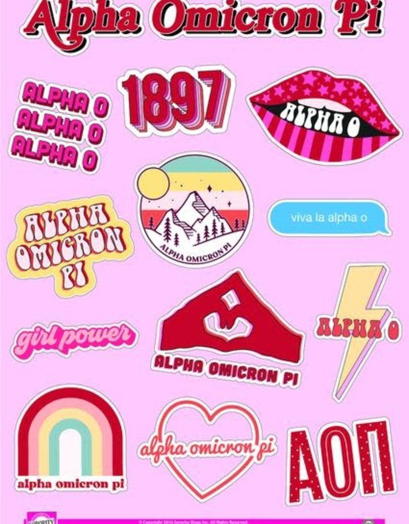 Sorority Shop Sticker Sheet