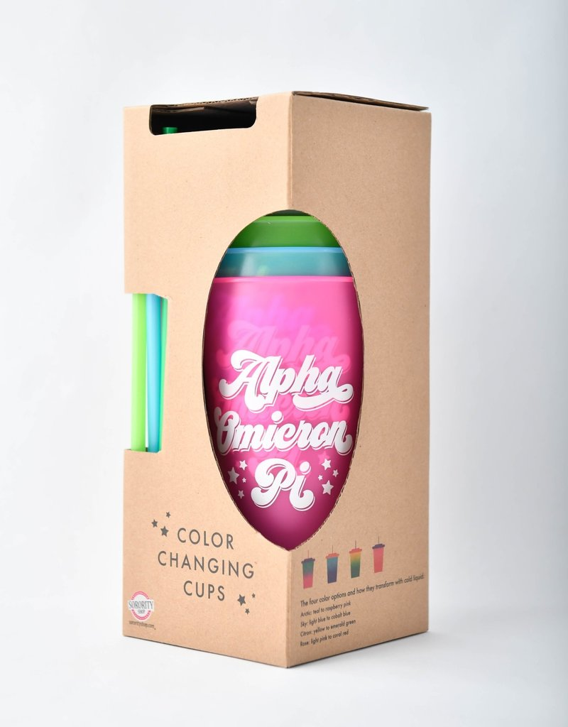 Sorority Shop Color Changing Cup Set