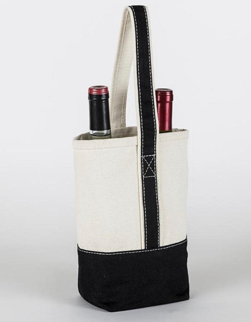 Shore Bags Wine Bag w/ Embroidery