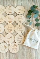 Bebe Au Lait Wooden Milestone Set