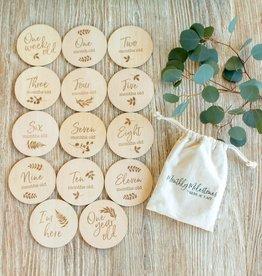 Bebe Au Lait Wooden Disc Set