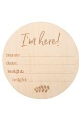 Bebe Au Lait Milestone Wooden Disc