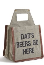 Mona B Up-Cycled Canvas Beer Tote
