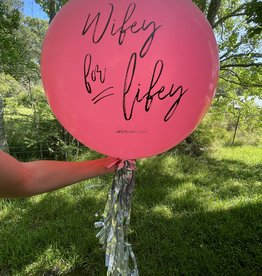 Badass Balloon Co. Jumbo Balloon w/ Tassel