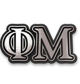 Alexandra & Company Chrome Car Emblem