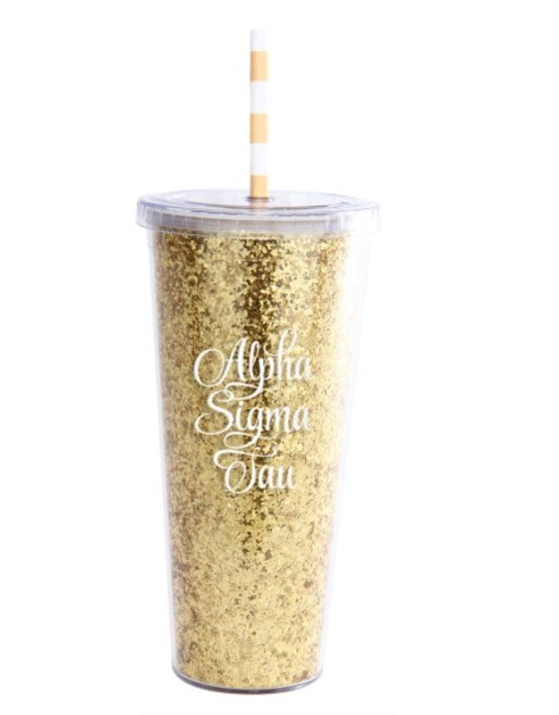Alexandra & Company Glitter Tumbler