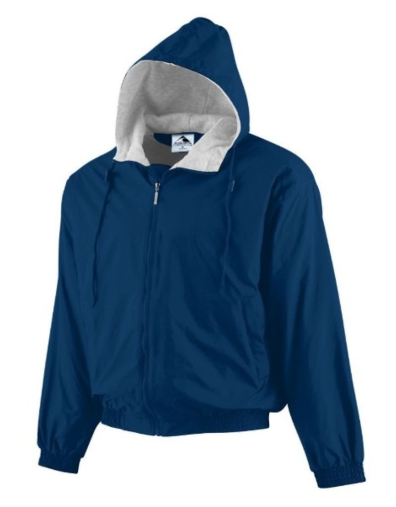 Augusta Adult Hooded Nylon Jacket