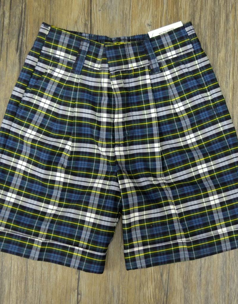 Elder Manufacturing Co Shorts 7-14 Plaid