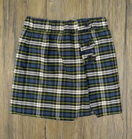 Elder Manufacturing Co Skort 7-18 Plaid