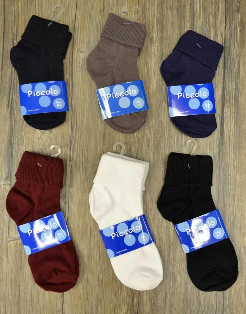Piccolo Hosiery Triple Roll Socks