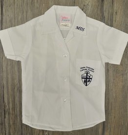 Tulane Shirts, Inc. S/S Girls Catholic/Blank Broadcloth