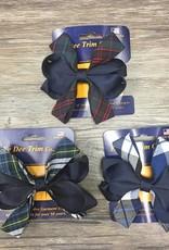 Ee Dee Trim Co., Inc. Plaid Carnival Hair Bow