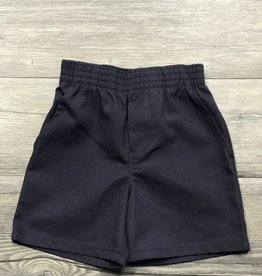 Elder Manufacturing Co Gray/Navy Pull-On Shorts