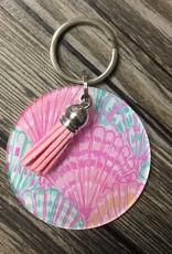 Acrylic Keychain w/ Tassel