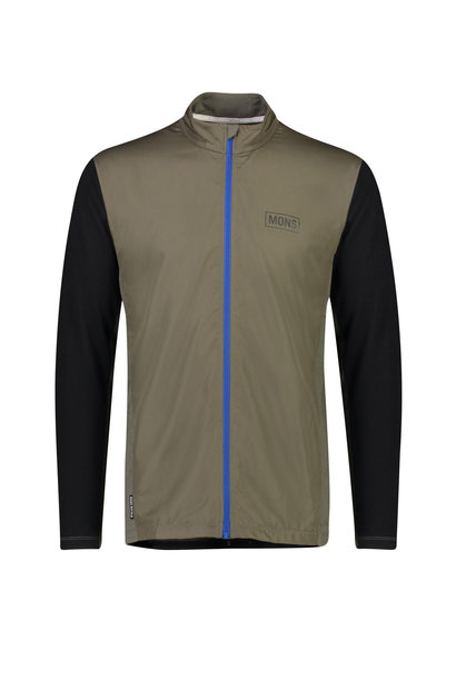 Mons Royale Men's Redwood Wind Jersey