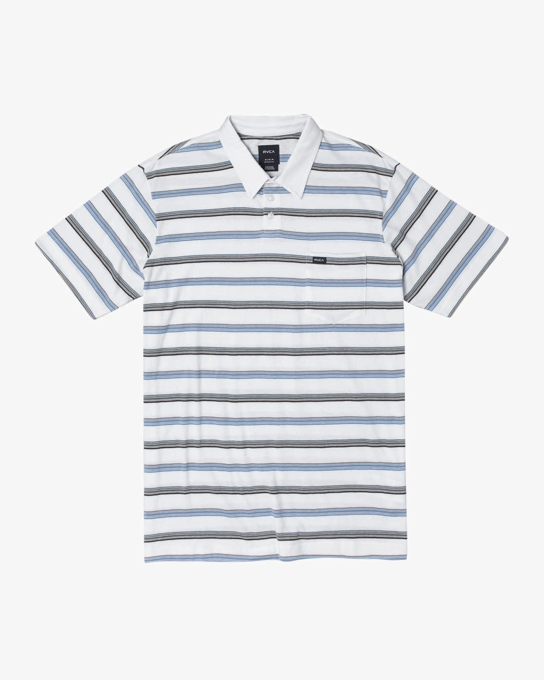 RVCA Merced Polo Shirt-1