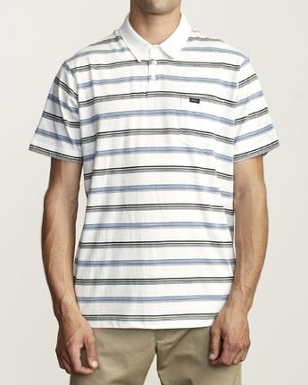 RVCA Merced Polo Shirt-2
